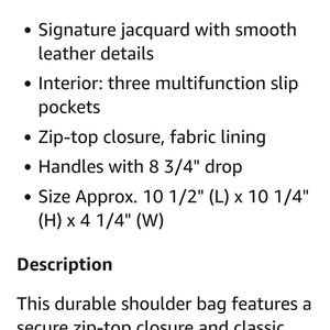 NWT Coach purse/handbag